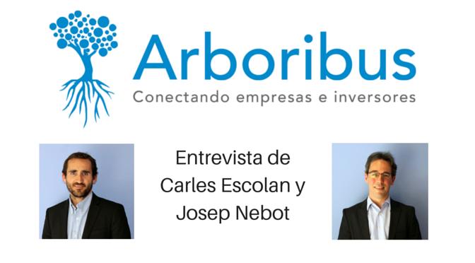 Entrevista de Carles Escolan y Josep Nebot de Arboribus