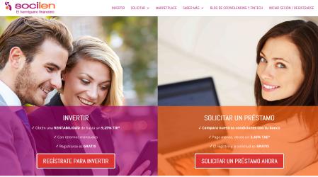 Socilen : Plataforma de crowdlending en Espana