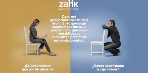 zank : Platforma de crowdlending entre personas